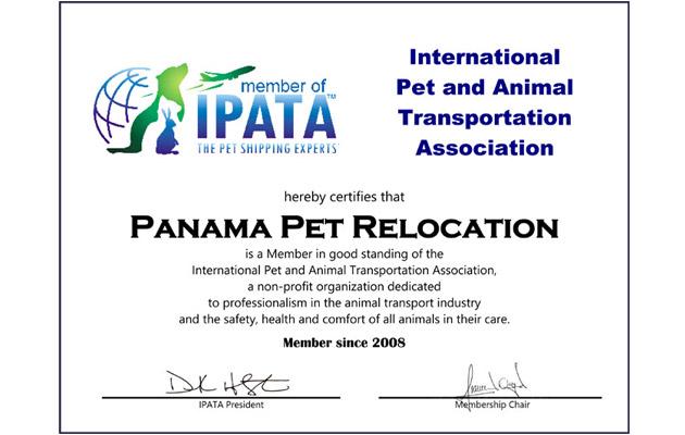 IPATA, International Pet and Animal Transportation Association
